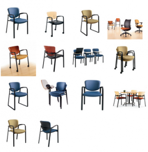 type of chairs