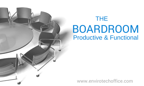 Productive Functional Boardroom