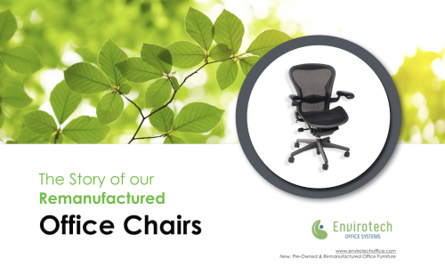 Remanufactured Office Chair Video Blog