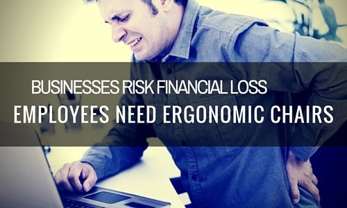 Businesses at Risk Employees Need Ergonomic Chairs Blog Image