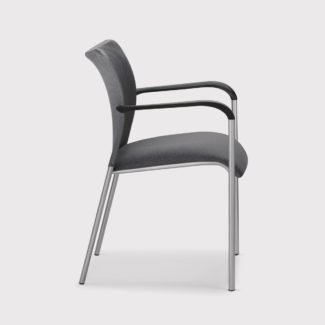 Allseating Inertia Mesh Back Side Chair