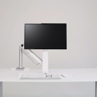 Humanscale Sit/Stand Lite Single Monitor Arm and Keyboard Tray