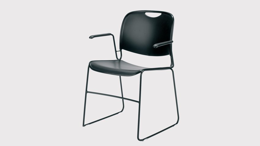 Lacasse 4800 Stacker Chairs with arms  sc 1 st  Envirotech Office & Lacasse 4800 Stacker Chair with Arms - Envirotech Office