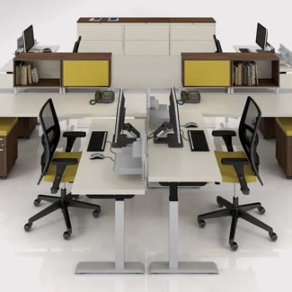 Lacasse Quorum Height Adjustable Table