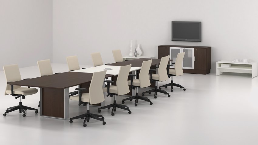 lacasse quorum rectangular conference table envirotech office
