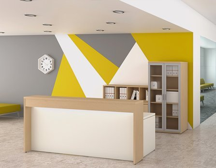 Create a lasting first-impression with beautifully designed reception areas