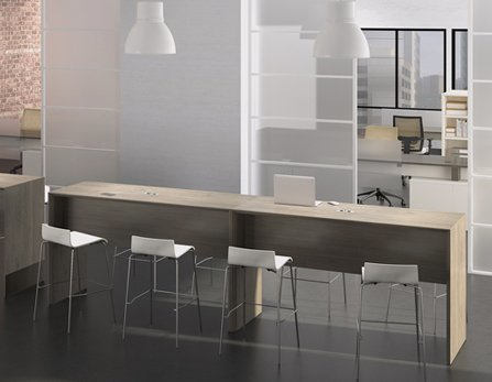 Conference tables, training tables, sit-stand tables or free standing tables