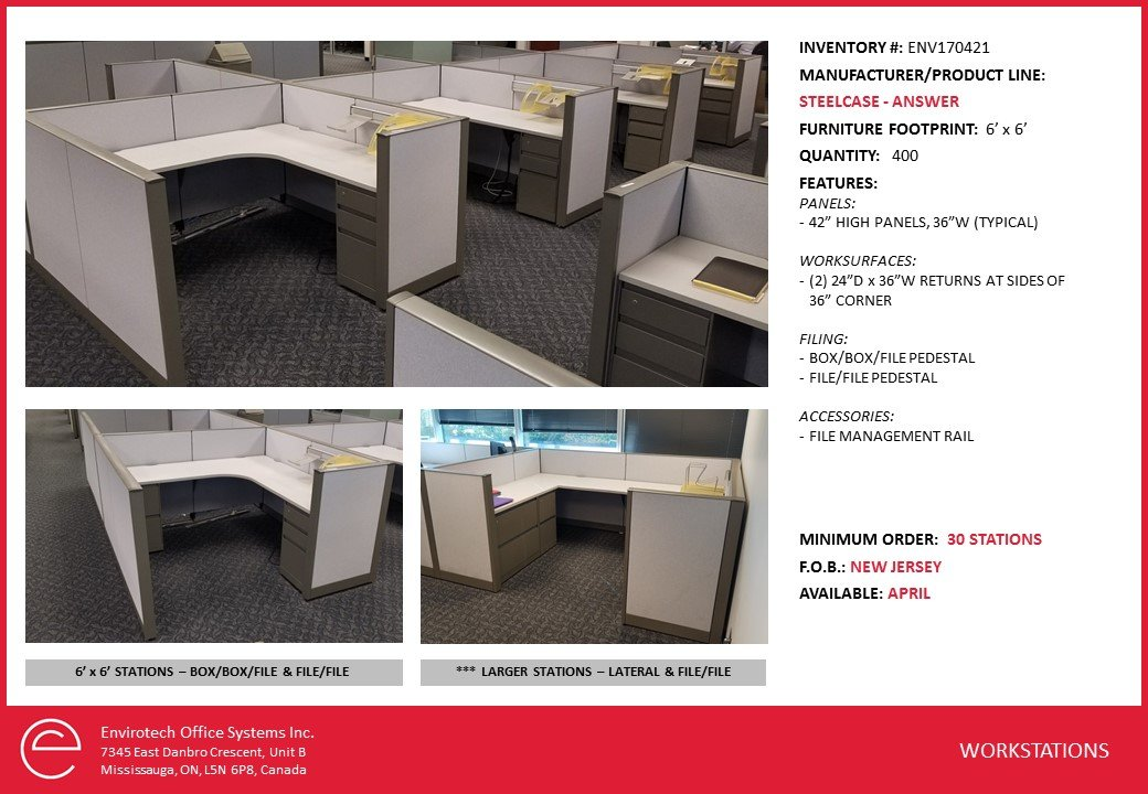 Steelcase Cubicles