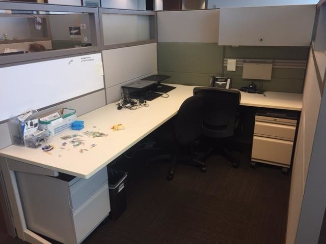Teknion 6x8 Cubicles