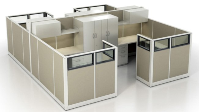 Steelcase 9000 Cubicles