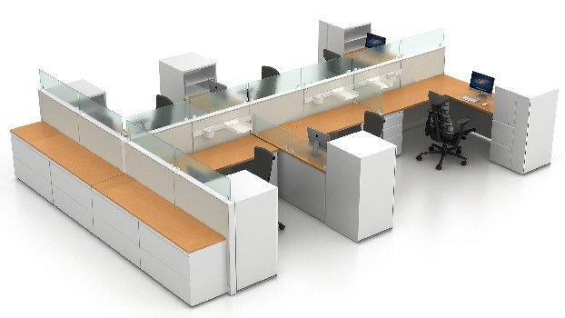 Herman Miller Canvas Cubicles