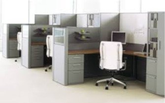 Teknion Leverage Cubicle