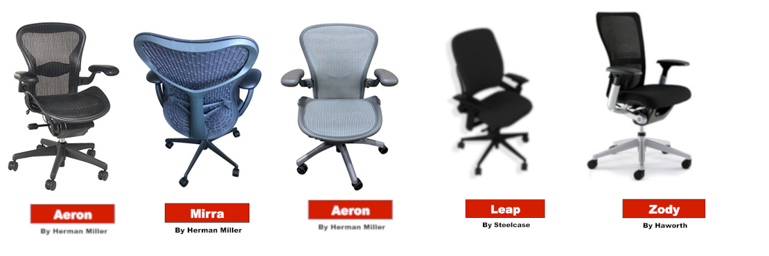 Haworth-Herman Miller-Steelcase-Task-Chairs
