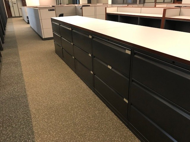 Knoll Calibre-3 lateral file cabinets