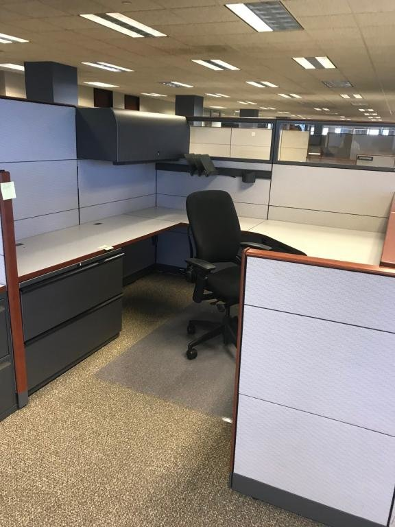 KNOLL REFF PRIVATE CUBICLES WITH GLASS