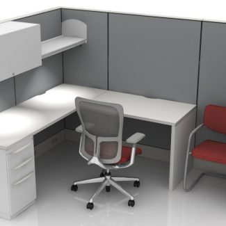 6'x8'  L- Shaped Workstation/Cubicles